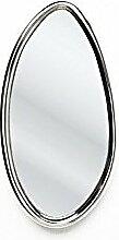 Kare design-Wandspiegel oval alu Drops 14 x 25
