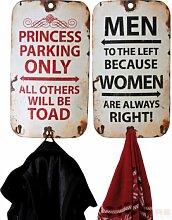 KARE Garderobe Slogan Vintage 2er Se
