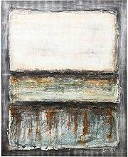 KARE Ölbild Abstract Grey Line One 120x150cm