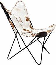 Kare Sessel Butterfly Fur, moderner Design