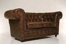Kare Sofa Oxford 2-Sitzer Vintage Econo,