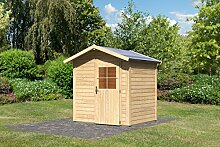 Karibu Gartenhaus Coborg natur 28 mm
