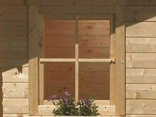 Karibu Holz-Fenster für 38/40 mm Wandstärke