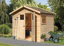 Karibu Holz-Gartenhaus Dalin 1 14 mm Gerätehaus