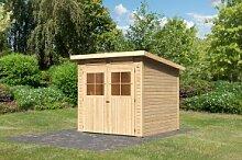 Karibu Holz-Gartenhaus Glücksburg 3 - 19 mm
