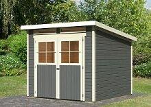 Karibu Holz-Gartenhaus Glücksburg 4 Pultdach 19