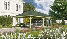 Karibu Pavillon Holm 2, BxTxH: 431x778x318 cm