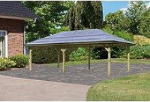Karibu Pavillon Kirn 2, BxTxH: 338x592x290 cm
