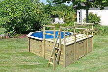 Karibu Pool Modell 1 Variante D
