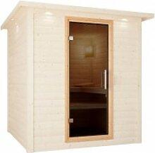 Karibu Sauna Türelement easy für Sauna