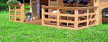Karibu Terrasse für Doderic 150 cm