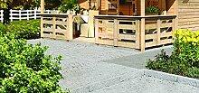 Karibu Terrasse für Pirion 180 cm