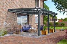 Karibu Terrassenüberdachung Modell 3 Größe B