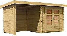 Karibu Woodfeeling Gartenhaus Bastrup 2 mit