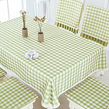 Karierten Tischdecke/Wasserdicht Tischdecke/Tischdecke decke/Tischsets/Matte/Tischdecken-C Durchmesser180cm(71inch)