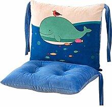 Karikatur-abnehmbare Stuhl-Kissen-Art- und Weisebügel-Stuhl-Auflagen