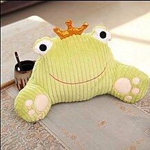 Karikatur-Stuhl-Lendenkissen-Lendenkissen-Auto-Sofa-Kissen für schwangere Frauen ( farbe : Gelb , größe : 28*48cm )