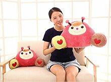 Karikatur-Stuhl-Lendenkissen-Lendenkissen-Auto-Sofa-Kissen für schwangere Frauen ( farbe : Rot , größe : 35*58cm )
