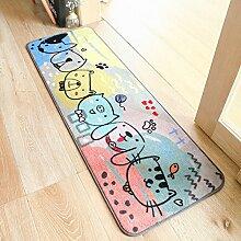 Karikatur Tier Teppich Niedlich Katze Hund Bär Teppich Bunt Bodenmatte Wohnzimmer Schlafzimmer Teppich Eingang Balkon Fußabtreter