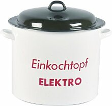 Karl Krüger Einkocher 27 Liter emailliert mit