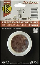 KARL KRÜGER Ersatzteil-Set zu Espresso-Kanne