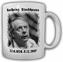 Karlheinz Stockhausen deutscher Komponist Kaffee Becher Tasse #13726