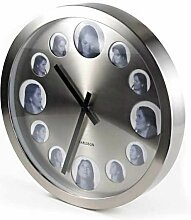Karlsson Wanduhr Big Friends mit Fotorahmen