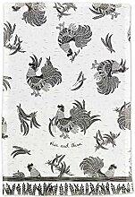 Karma Gifts KA101949, Rooster Boho Tea Towel, One