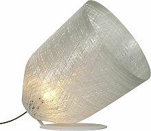 Karman Stehlampe transparent,Handgefertigt in