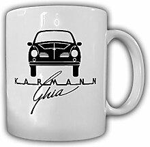 Karmann Ghia Logo Wappen Auto PKW Oldtimer
