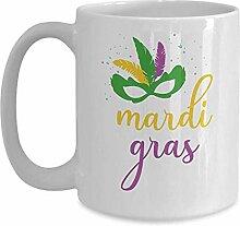 Karneval Tasse lustige Kaffeetasse Geschenkidee