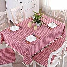 Karo stoff garten tisch tuch,tisch tücher mit rechteckiger tisch-A 150*200cm(59x79inch)