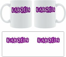 Karolin-Grunge, Design-Becher aus Keramik,