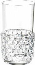 Kartell 1491B4 Jellies Family Cocktailglas, glasklar transparen