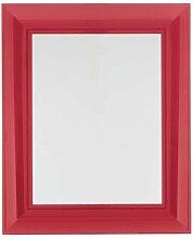 Kartell 8300V5 Wandspiegel François Ghost 79 cm, ro
