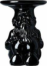 Kartell 883209 Gartenzwerg-Hocker Gnome Napoleon, schwarz