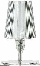 Kartell 9050B4 Nachttischlampe Take, glasklar