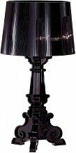 Kartell 9070Q8 Leuchte Bourgie, schwarz