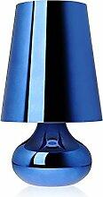 Kartell 9100M5 Nachttischlampe Cindy, blau