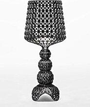 Kartell 9200/09 Mini Kabuk Lampe, Schwarz