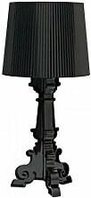 Kartell Bourgie lampe, Polycarbonat, E14, schwarz