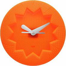 Kartell - Crystal Palace Wanduhr, orange