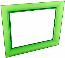 Kartell Francois Ghost Wandspiegel, Plastik, grün