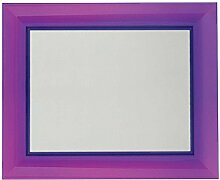 Kartell Francois Ghost Wandspiegel, Plastik, violett, 8.5 x 111 x 8.5 cm