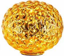 Kartell Planet Tischleuchte LED Gelb (h) 28 X (Ø)