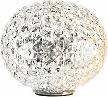 Kartell Planet Tischleuchte LED Transparent (h) 28
