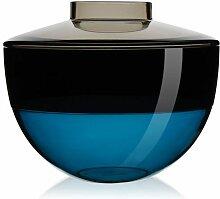 Kartell Shibuya Vase Grau-smoke-blau