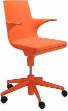 Kartell Spoon Chair Orange