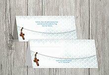 Kartenparadies Tischkarte Taufe Taufe Tisch Floral Rapport, hochwertige Platzkarte zur Tauffeier | 60 Karten - (Format: 100x44 mm) Farbe: Matschgrün