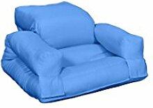 Karup Baby Nilpferd Stuhl, Cottone/Polyester, blau